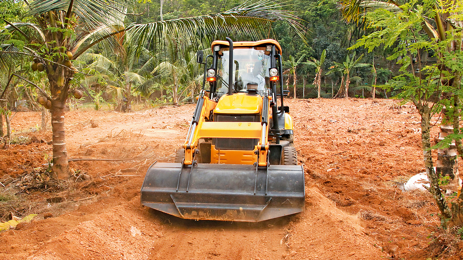 JCB Backhoe Loader 2DX Images