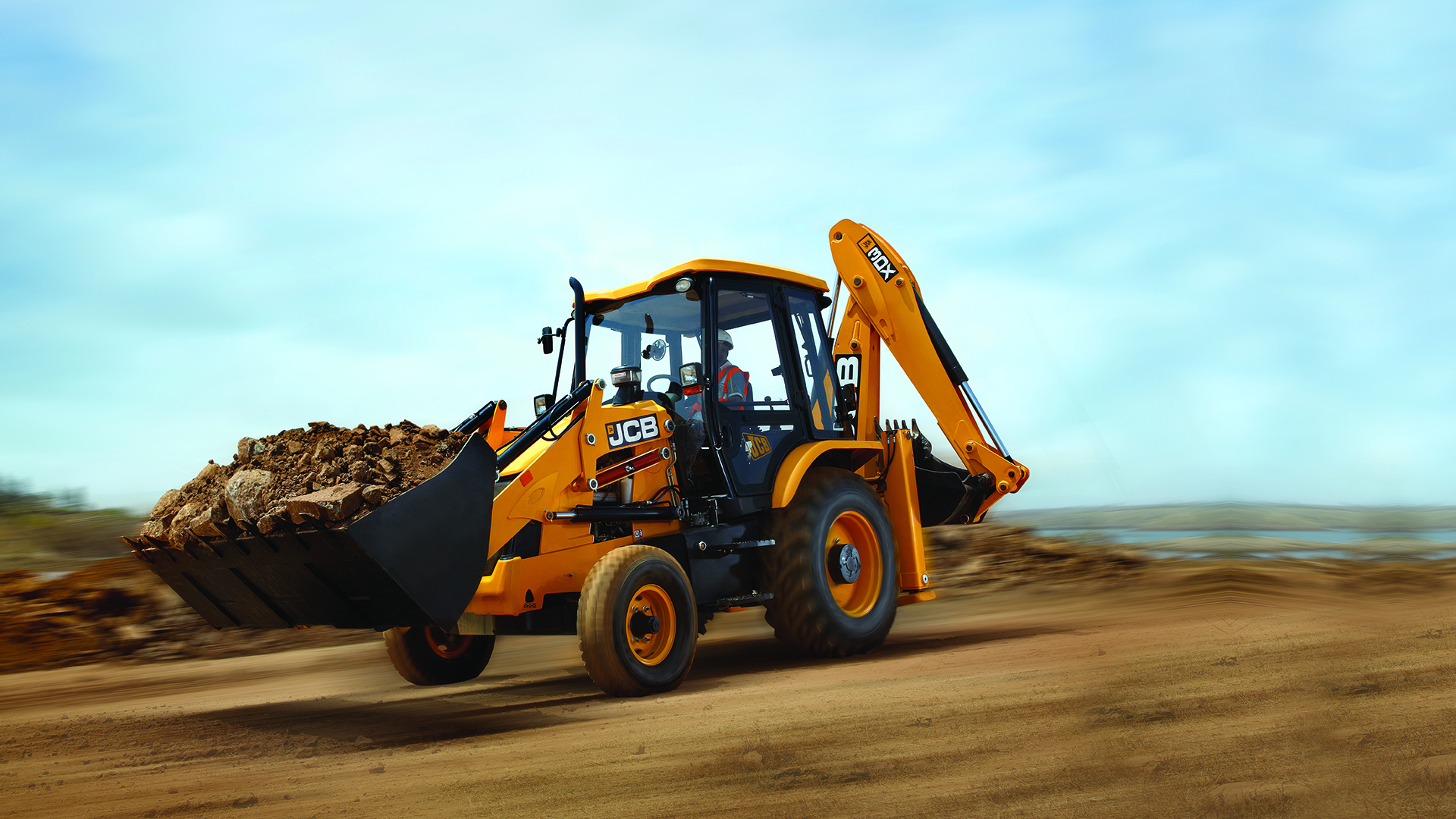 JCB Backhoe Loader 3DX Images