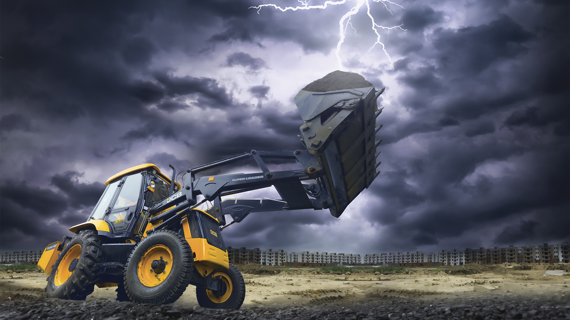 JCB Super Loader Images