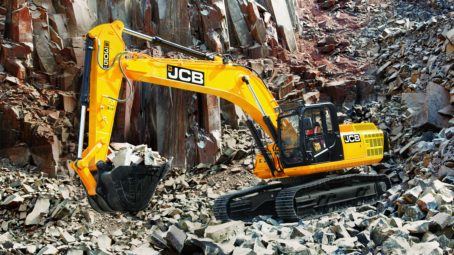 JCB 305LC Tracked Excavator Wallpaper