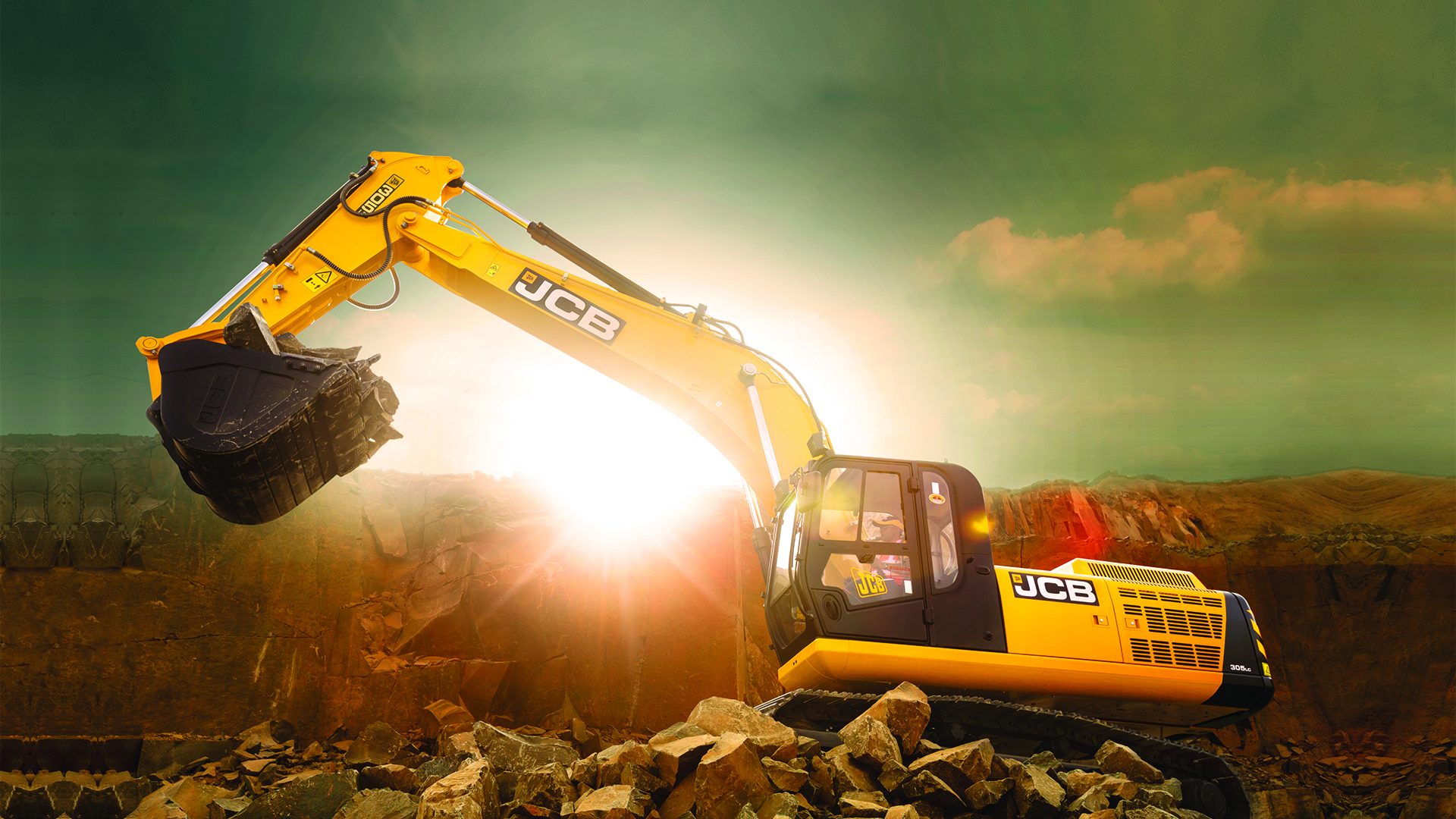 JCB 305LC Tracked Excavator Images