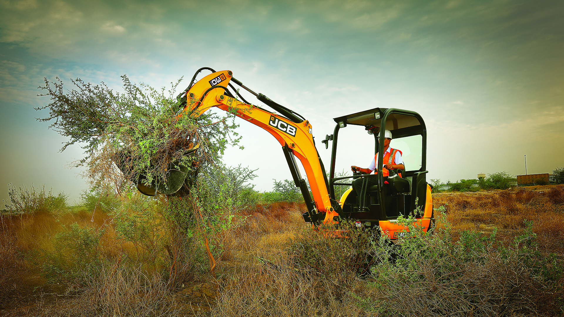 JCB 30Plus Tracked Excavator Wallpaper
