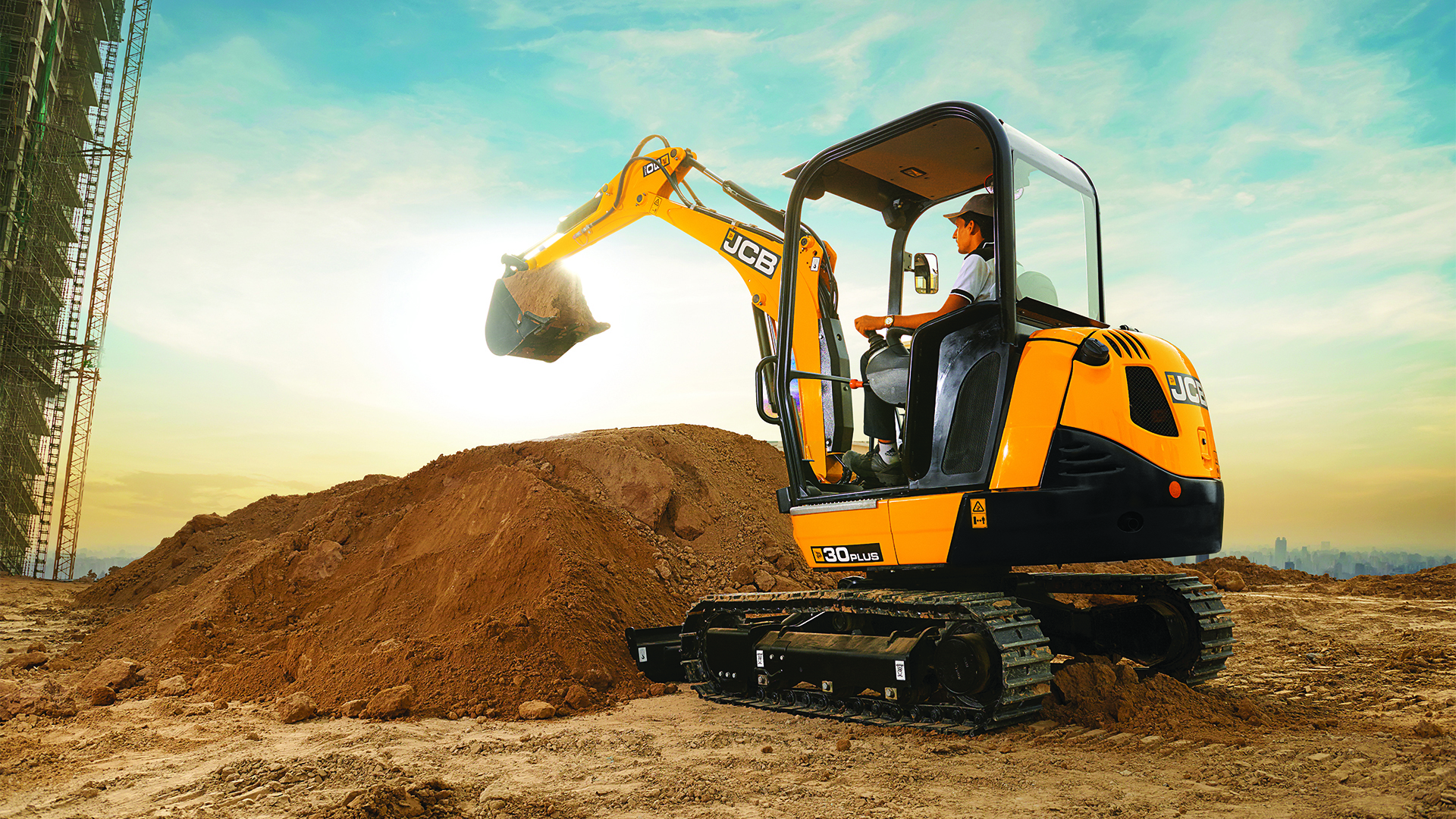 JCB Tracked Excavators Images