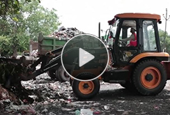 JCB Super Loader – Application in the Solid Waste industry
