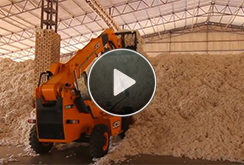 JCB Loadall – Application in the Cotton industry