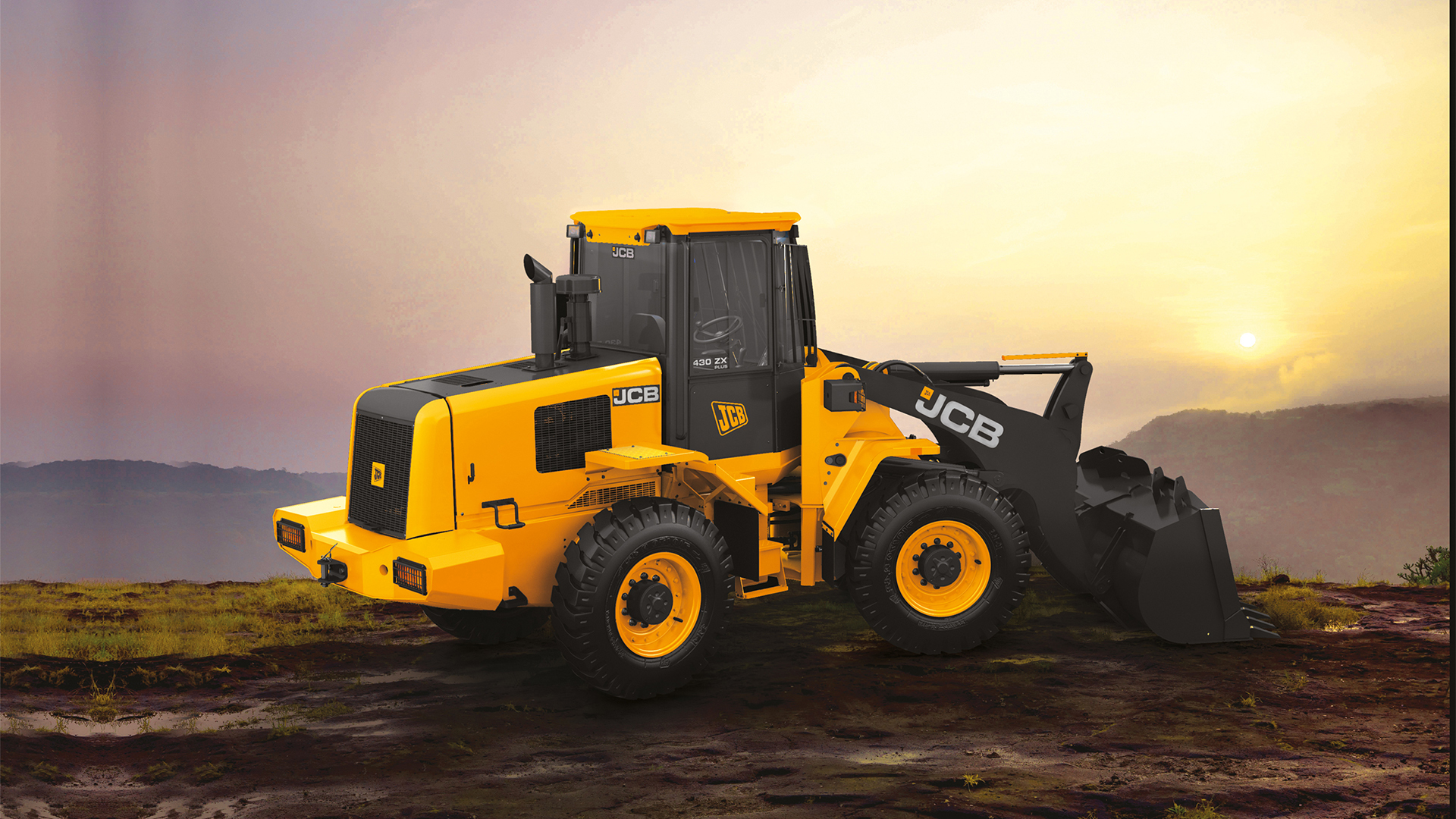JCB Wheeled Loaders Images